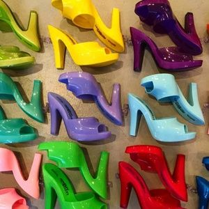 Melissa Shoes - Melissa Inflatable Mule + Jeremy Scott